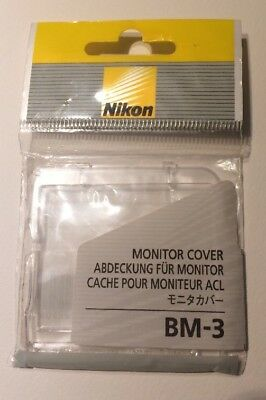 Nikon BM-3 Replacement LCD Monitor Cover for D2H D2Xs & D2x Digital SLR Cameras