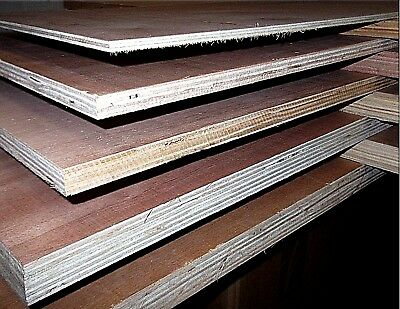 EXTERIOR PLYWOOD HARDWOOD FACES CPD COMPLIANT VARIOUS THICKNESS 3.6mm - 25mm