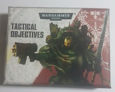 Warhammer 40k. Tactical Objectives. 100% Complete. Oop.
