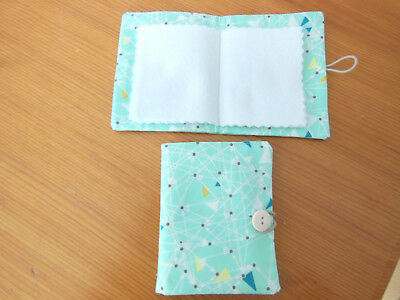 New Sewing Needle Case With Six Felt Leaves  Hand Made