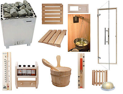 Oceanic Heavy Duty Commercial Deluxe Sauna Kit