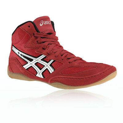 Asics Men's Matflex 4 Wrestling Shoes Training Boots Trainers Red