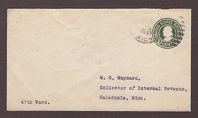 mjstampshobby 1921 US Vintage Cover Used (Lot4819)