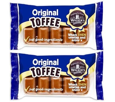 Walkers Nonsuch Original Creamy Toffee From Tray 2 X 100g Gluten Free