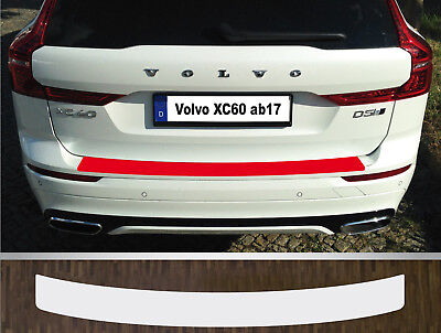 Clear Protective Foil Bumper Protection Transparent Volvo XC60, from 2017