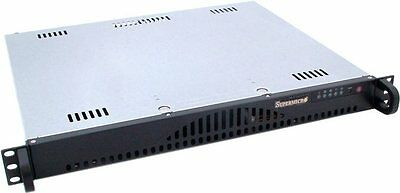 "Rack 1U SuperMicro 19"" court - SC512-200B - Alimentation 200W"