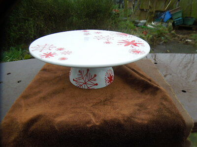 M&S Marks & Spencer  Pedestal CAKE Stand - Christmas - Birthday CAKE
