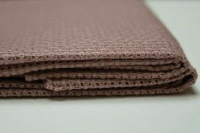 1 Pcs Cocoa Cotton Aida 11, 14, 16 and 18 ct 50 x 50 cm