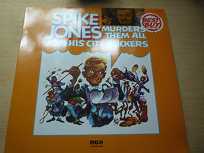 Spike Jones Double Vinyl Murders Them All