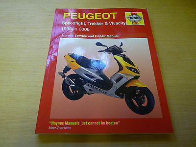 Peugeot Speedflight Trekker Vivacity Haynes Manual 1996 - 2008