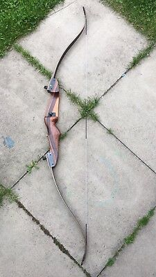 """Vintage Quicks HUNTER - RECURVE Take Down Bow 58"""" RIGHT Handed *RARE"""