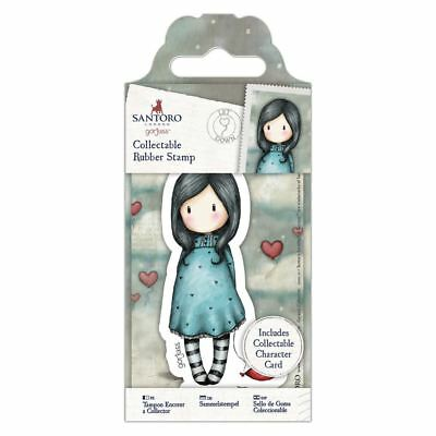 Santoro Gorjuss Postal Craft Collection - Rubber Stamps - Let Down