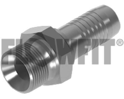 Flowfit Hydraulic BSP male x hose-tail STRAIGHT
