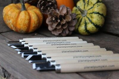 Professional  Pumpkin Carving Tools. Great for Halloween ** 10 Piece Carving Kit