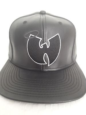 Wu-Tang Clang Snapback Cuir leather