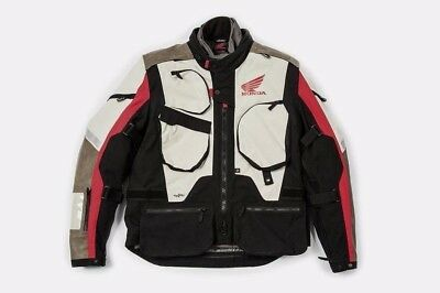 Spidi Honda Textile Adventure Motorcycle Jacket Africa Twin New RRP £359.99!!