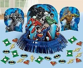 New Justice League Table Decorating Kits