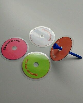 Reusable nearest the pin markers