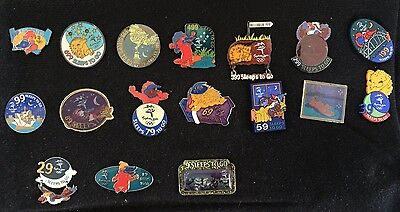 Sydney 2000 Olympic Pins -  SLEEPS TO GO PINS