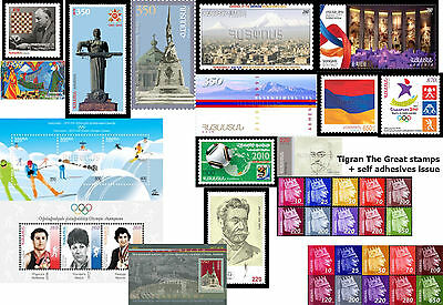 Armenia MNH** 2010 Complete year set all 32 stamps + 3 Souvenir Sheets