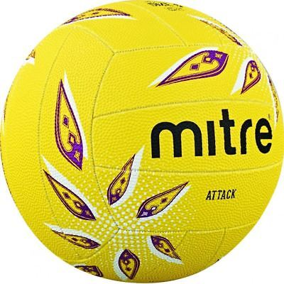 Mitre attack Netball ball size 4 or 5 pink or yellow