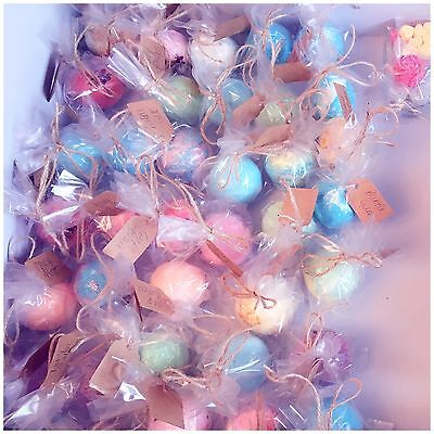 100x Large Assorted Bath Bombs 🌸 Wholesale/Wedding Favours/ Gifts