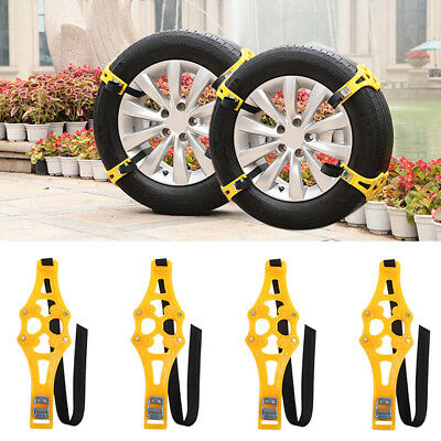 1PC TPU Winter Truck Car Snow Chain Tire Anti-skid Belt Car Safety Max Traction