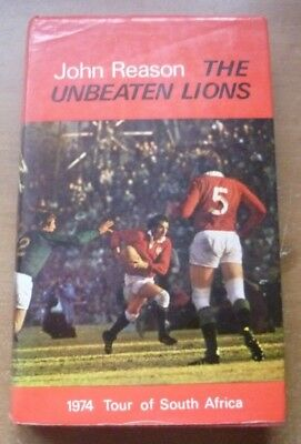 The Unbeaten Lions by John Reason, 1974 British Lions Touring Book.