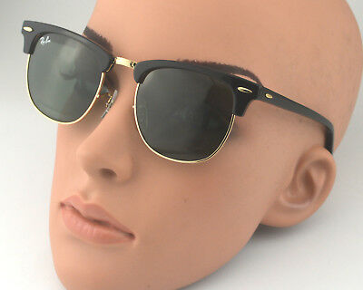 3604c0c1bd0f promo code rayban rb3016 clubmaster classic w0365 black frame green classic  g 15 lenses51mm d9669 ed4d8
