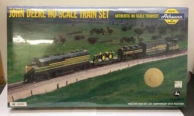 John Deere Ho Train Set 4th In Series By Athearn MIB 2000 Never Opened