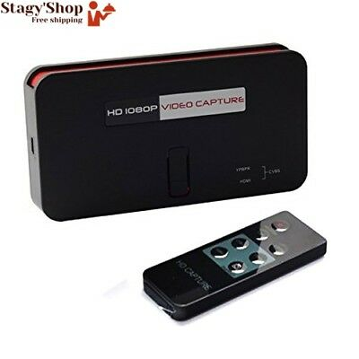 HD Game Capture Video for PlayStation / PS4 PS3 Wii U PC XBox, 1080p HDMI...