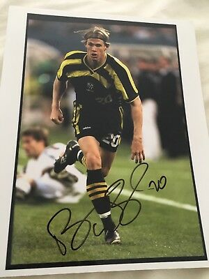 *Brian Mcbride USA Soccer Signed Photo Fulham Columbus Chicago*