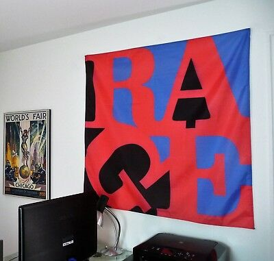 RAGE AGAINST THE MACHINE Renegades BIG 4X4 BANNER poster tapestry cd album