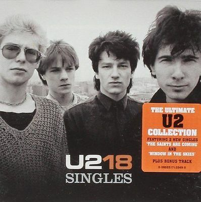 U2 18 Singles The Ultimate Collection Brand New Sealed Cd Best Greatest Hits