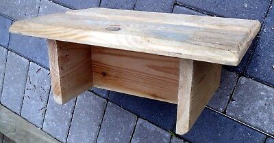 Hand-Made Wooden STEP STOOL (2)