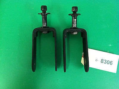Rear Caster Forks for Quantum 600  Power Wheelchair #8306