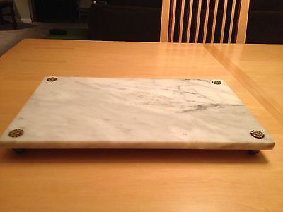 Vintage Marble Vainity Tray Made In Italy