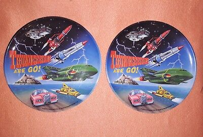 2 x Thunderbirds Are Go! Plastic Plates