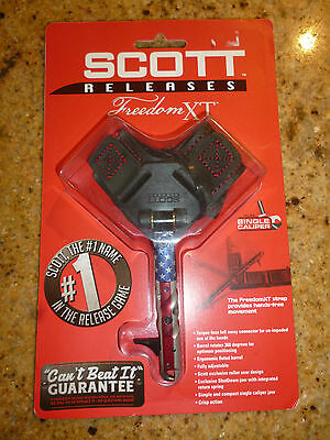 Scott Freedom XT Mechanical Release American Flag single caliper