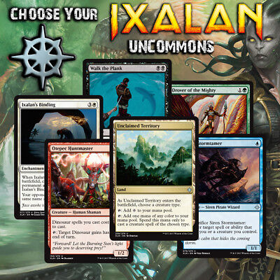 Choose Your Ixalan Uncommon Cards - XLN MTG M/NM