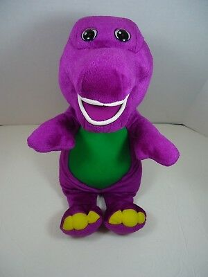 """12"""" Barney The Dinosaur Light Up Talking Singing Magical Friend I Love you Song"""