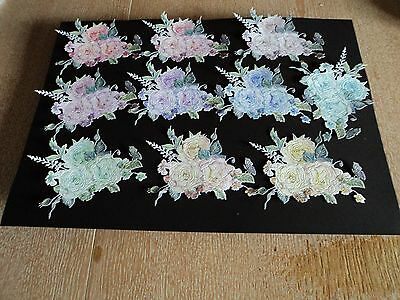 Tattered Lace Magical Midnight - Just Because- Die Cuts X 10
