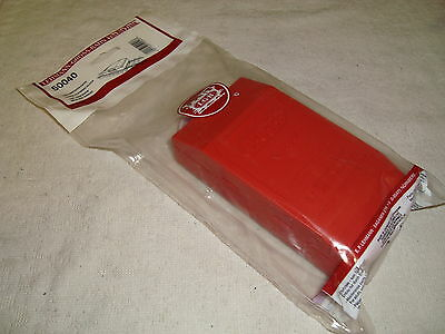 Lgb 5004 50040 Red Abrasive Track Cleaning Block Brand New In Sealed Bag!