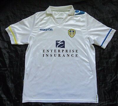 LEEDS UNITED AFC home Shirt jersey The Peacocks trikot 2011-2012 adult SIZE M