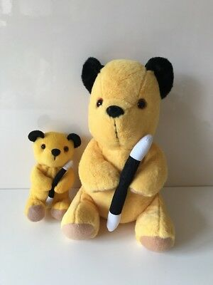 "Sooty Plush Soft Toy 5.5"" & Sooty 11"", Sooty And Sweep Show"