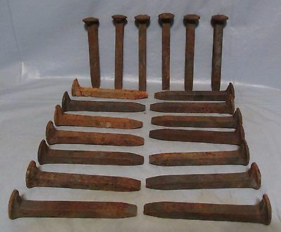 RAILROAD SPIKES (Set of 20) Western/Cabin Decor Black Smith Knife Making
