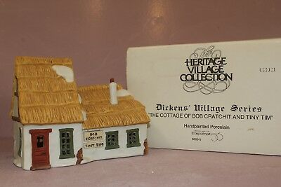 Dept 56 Dickens Village Series, The Cottage of Bob Cratchit and Tiny Tim 65005