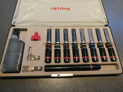Architects Surveyors Rotring Extensive Drawing Set.