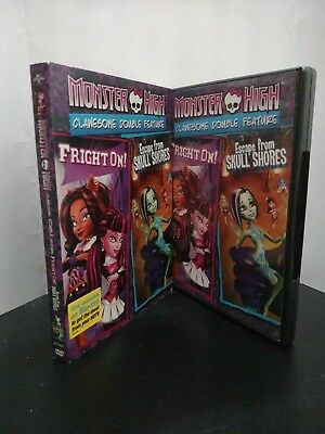 ** Monster High: Clawesome Double Feature - Fright On + Escape From Skull Shores