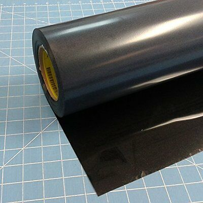 "Black Siser EasyWeed 15"" X 3' Iron Heat Vinyl Arts And Crafts Supplies"